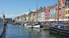Nyhavn, famous waterfront in Copenhagen, Denmark. From en.wikipedia.org/wiki/File:Nyhavn_-_colourful_facades.jpg.