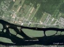 Douglas, New Brunswick aerial. From panoramio.com/photo/5733942.