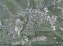 Haarby, Denmark aerial. From Google Earth.