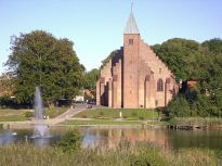 Cathedral in Maribo, Denmark. From en.wikipedia.org/wiki/File:Maribo_Domkirke.JPG.
