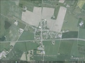 Resen, Denmark aerial. From Google Earth.