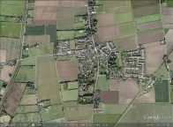 Sibsey, England aerial. From Google Earth.