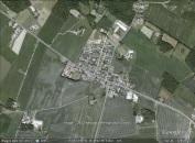 Vestermarie, Denmark aerial. From Google Earth.