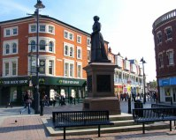 Square in Walsall, England. From www.walsallkobar.org.uk/About%20Walsall.html.