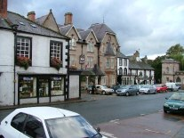 Commercial area in Appleby-in-Westmoreland, England. From en.wikipedia.org/wiki/File:Appleby_Market_Square.jpg.
