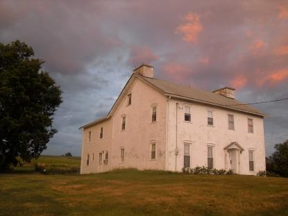 Farmhouse in Huntington, Pennsylvania. From oldtiogafarm.wordpress.com/house/.