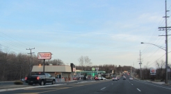 Commercial strip in Middletown, New Jersey.