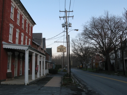 Retail buildings in Richmond, Pennsylvania.